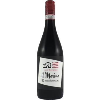 Bottle shot for 2017 Vignamaggio Il Morino
