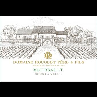 Label shot for 2018 Rougeot Meursault Sous La Velle