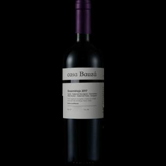 Bottle shot for 2017 Casa Bauza Ensamblaje Red Blend