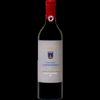 Bottle shot for 2016 Bibbiano Chianti Classico Gran Selezione 'vigna Del Campannino'