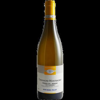 Bottle shot for 2018 Jean Marc Pillot Chassagne Montrachet 1er Cru Morgeot Les Fairendes