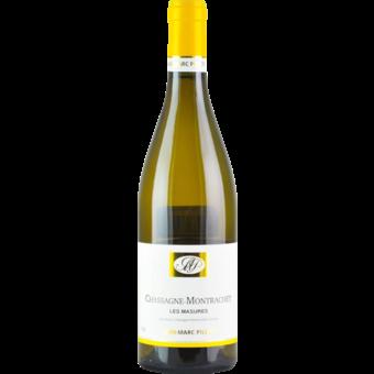 Bottle shot for 2018 Jean Marc Pillot Chassagne Montrachet Les Masures