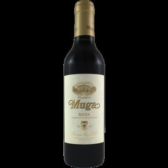 Bottle shot for 2016 Bodegas Muga Reserva Half Bottle