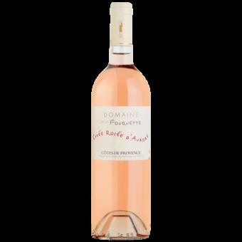 Bottle shot for 2020 Domaine De La Fouquette Cotes De Provence Rose D'aurore