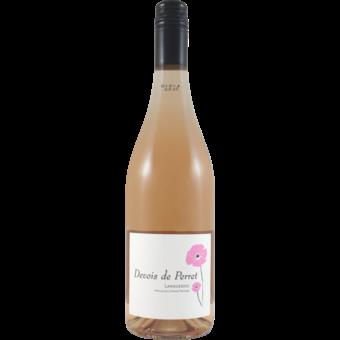 Bottle shot for 2020 Devois De Perret Rose Languedoc