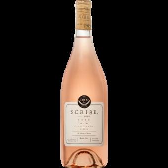 Bottle shot for 2020 Scribe Rose Of Pinot Noir