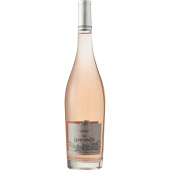 Bottle shot for 2020 Lavendette Provence Rose