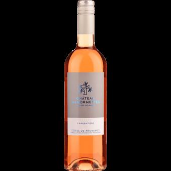Bottle shot for 2020 Chateau Des Bormettes L'argentiere Rose