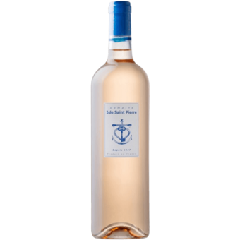 Bottle shot for 2020 Isle Saint Pierre Rose Igp
