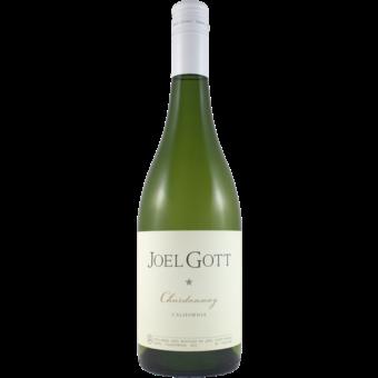 Bottle shot for 2019 Joel Gott Chardonnay Monterey