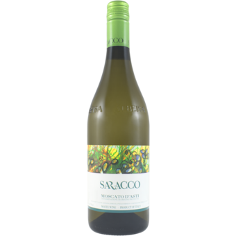 Bottle shot for 2020 Saracco Moscato D'asti