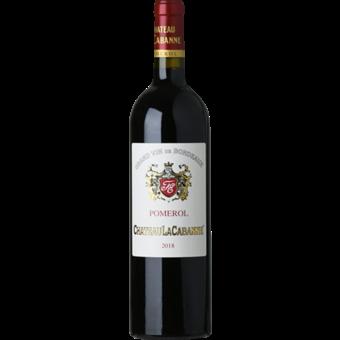 Bottle shot for 2018 Chateau La Cabanne