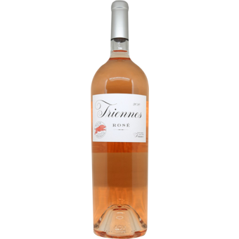 Bottle shot for 2020 Triennes Rose Double Magnum (3l)