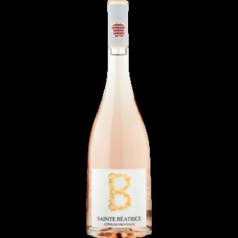 Bottle shot for 2020 Sainte Beatrice B Rose