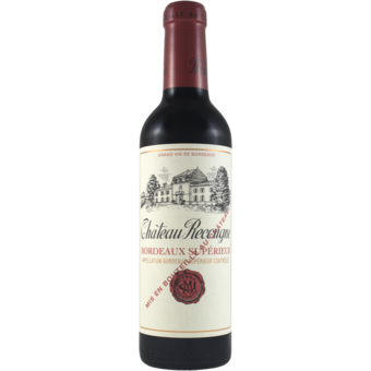 Bottle shot for 2018 Chateau Recougne