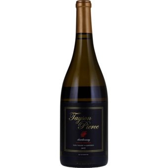 Bottle shot for 2017 Tayson Pierce Chardonnay