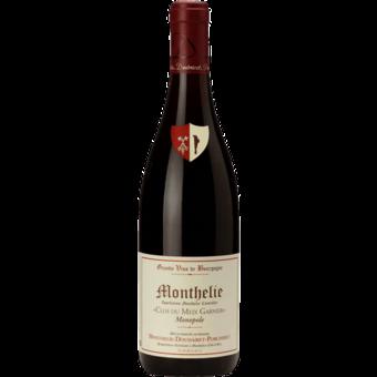 Bottle shot for 2017 Monthelie Douhairet Porcheret Monthelie Clos Du Meix Garnier (Monopole)