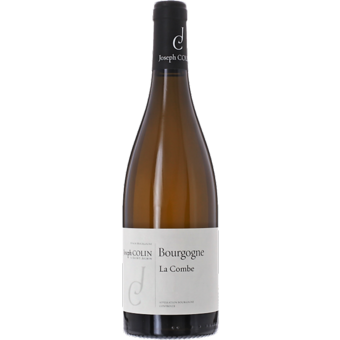 """Bottle shot for 2019 Joseph Colin Bourgogne Blanc """"La Combe"""""""