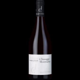 Bottle shot for 2019 Joseph Colin Chassagne Montrachet Rouge