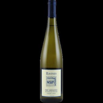 Bottle shot for 2017 Ravines Wine Cellars Dry Riesling Argetsinger Vineyard