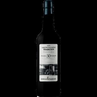 Bottle shot for  Bodegas Tradicion Amontillado Vors 30 Years