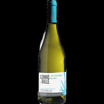Bottle shot for 2020 Lomas Del Valle Sauvignon Blanc Coastal Cool Climate Single Vineyard