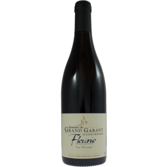 Bottle shot for 2018 Domaine De Grand Garant Fleurie Le Vivier