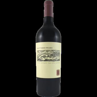Bottle shot for 2018 Scattered Peaks Napa Cabernet Sauvignon