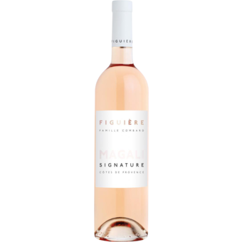 Bottle shot for 2019 Figuiere Rose Signature Magali