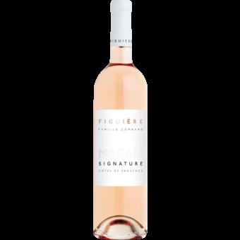 Bottle shot for 2019 Figuiere Rose Signature Magali