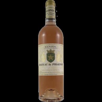 Bottle shot for 2019 Chateau Pibarnon Bandol Rose Magnum