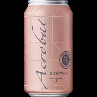 Bottle shot for  King Estate Acrobat Rose 375ml Can