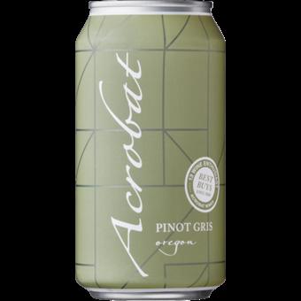 Bottle shot for  King Estate Acrobat Pinot Gris 375ml Can