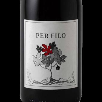 Label shot for 2017 Fico Wine Per Filo Toscana Sangiovese