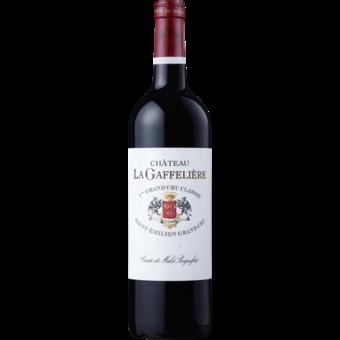 Bottle shot for 2018 Chateau La Gaffeliere Saint Emilion