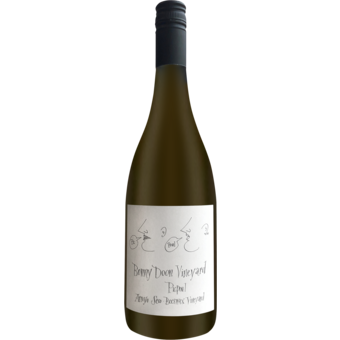 Bottle shot for 2020 Bonny Doon Vineyard Picpoul Beeswax Vineyard Arroyo Secco