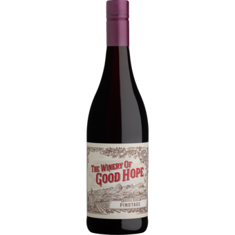 Bottle shot for 2020 The Winery Of Good Hope Full Berry Pinotage