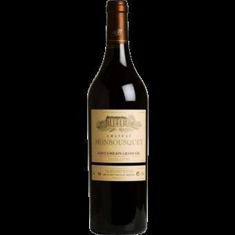 Bottle shot for 2018 Chateau Monbousquet Saint Emilion Grand Cru Classe