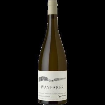 Bottle shot for 2018 Wayfarer Estate Chardonnay Wayfarer Vineyard Fort Ross Seaview Sonoma Coast