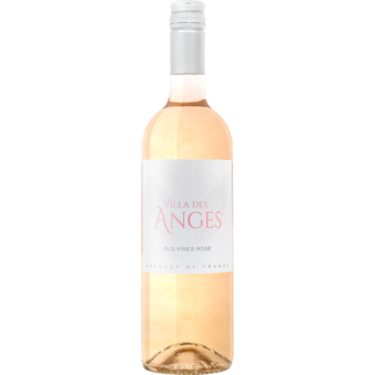 Bottle shot for 2020 Villa Des Anges Old Vines Rose