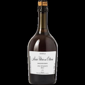 Bottle shot for 2019 Dianella Maria Vittoria And Ottavia Brut Rosato