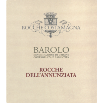 Label shot for 2016 Rocche Costamagna Barolo Annunziata