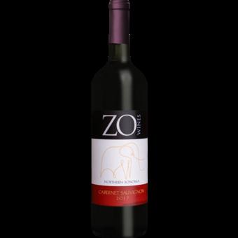 Bottle shot for 2017 Zo Wines Northern Sonoma Cabernet Sauvignon
