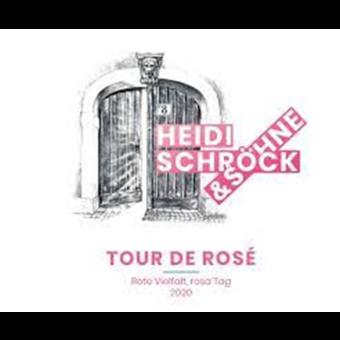 Label shot for 2020 Heidi Schrock Tour De Rose