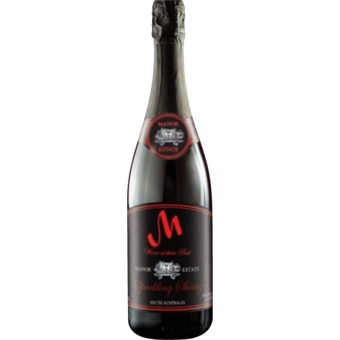 Bottle shot for  Manor Estates Sparkling Shiraz