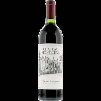 Bottle shot for 2018 Chateau Montelena Napa Cabernet Sauvignon