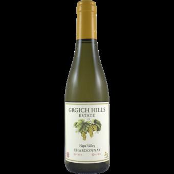 Bottle shot for 2018 Grgich Hills Chardonnay