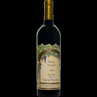 Bottle shot for 2018 Nickel & Nickel Quarry Vineyard Cabernet Sauvignon
