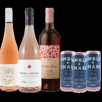 Bottle shot for  Rose Tasting Pack