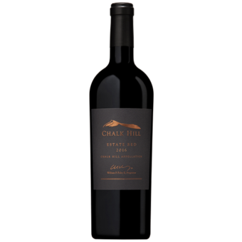 Bottle shot for 2016 Chalk Hill Estate Proprietary Red